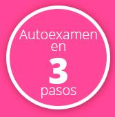 Autoexamen para detectar cáncer de mama en 3 pasos
