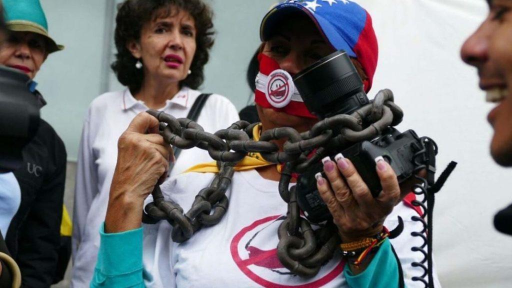 Periodistas en Venezuela
